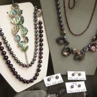 stones, beads, necklaces